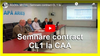 Semnare contract CL 1 la CAA
