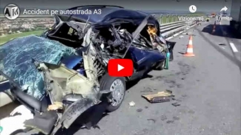 Accident pe autostrada A3